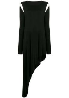 Maison Margiela shoulder cutout dress