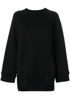 Maison Margiela side-pleat sweater
