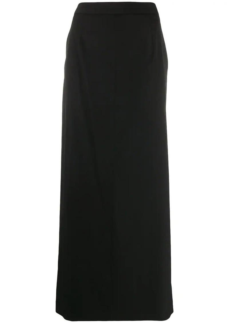 Maison Margiela side slit maxi skirt