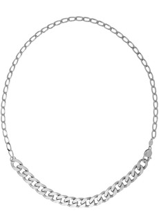 Maison Margiela Silver Chain Necklace