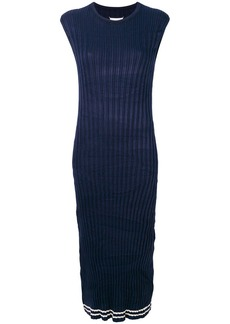 Maison Margiela sleeveless fitted midi dress
