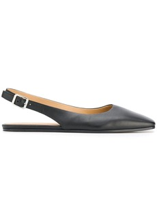 Maison Margiela slingback square toe pumps