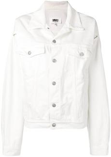 Maison Margiela slit sleeve denim jacket