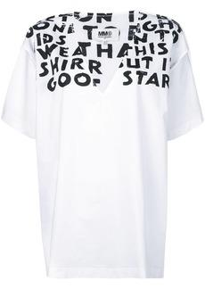 Maison Margiela slogan detail T-shirt
