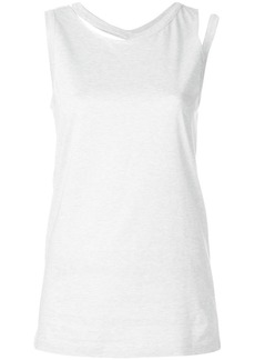 Maison Margiela spliced detail tank top