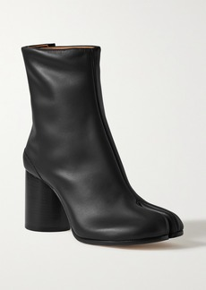 Maison Margiela Split-toe Leather Ankle Boots