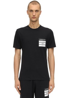 Maison Margiela Stereotype Cotton Jersey T-shirt