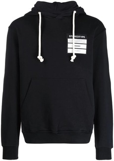 Maison Margiela Stereotype embroidered hoodie