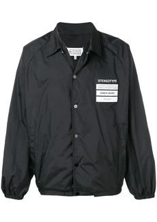 Maison Margiela 'Stereotype' patch shirt jacket