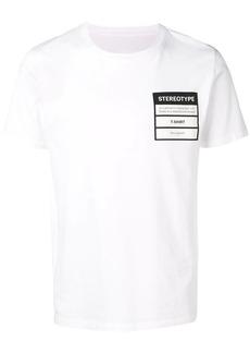 Maison Margiela 'Stereotype' patch T-shirt