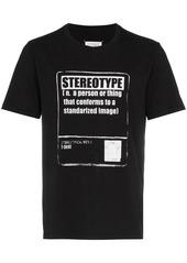Maison Margiela stereotype print t-shirt