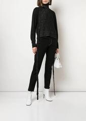 Maison Margiela stitched details straight jeans