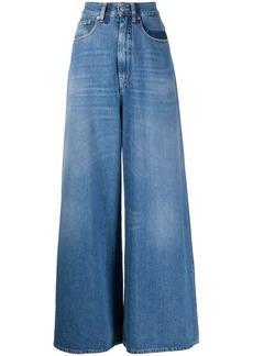 Maison Margiela stonewashed wide-leg jeans