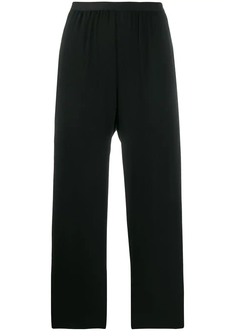 Maison Margiela straight cropped trousers