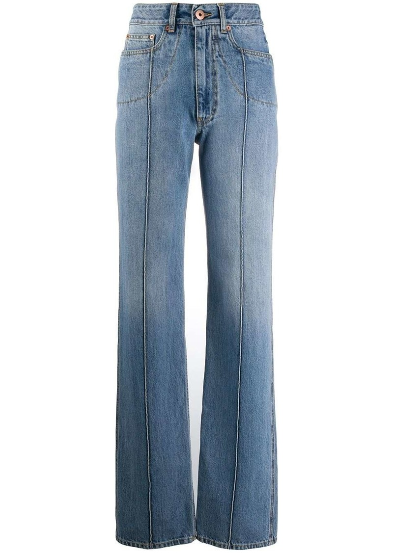 Maison Margiela straight high-rise jeans