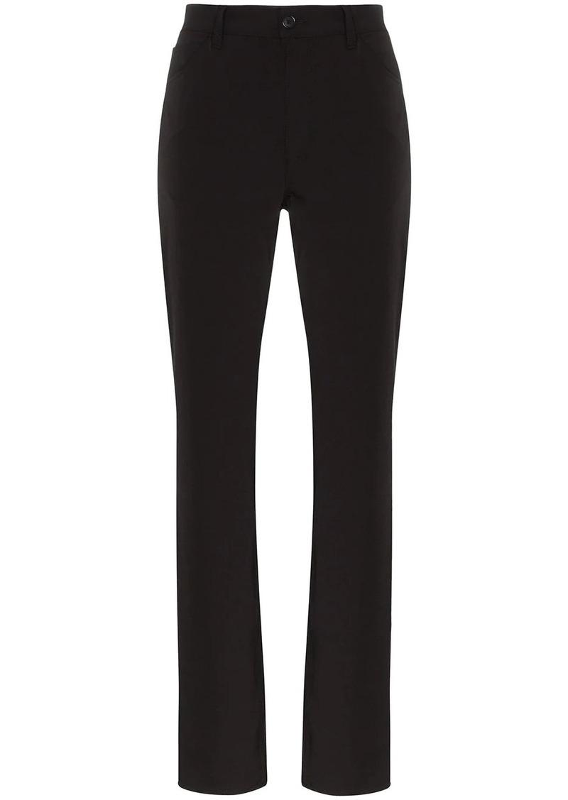 Maison Margiela straight-leg gabardine trousers