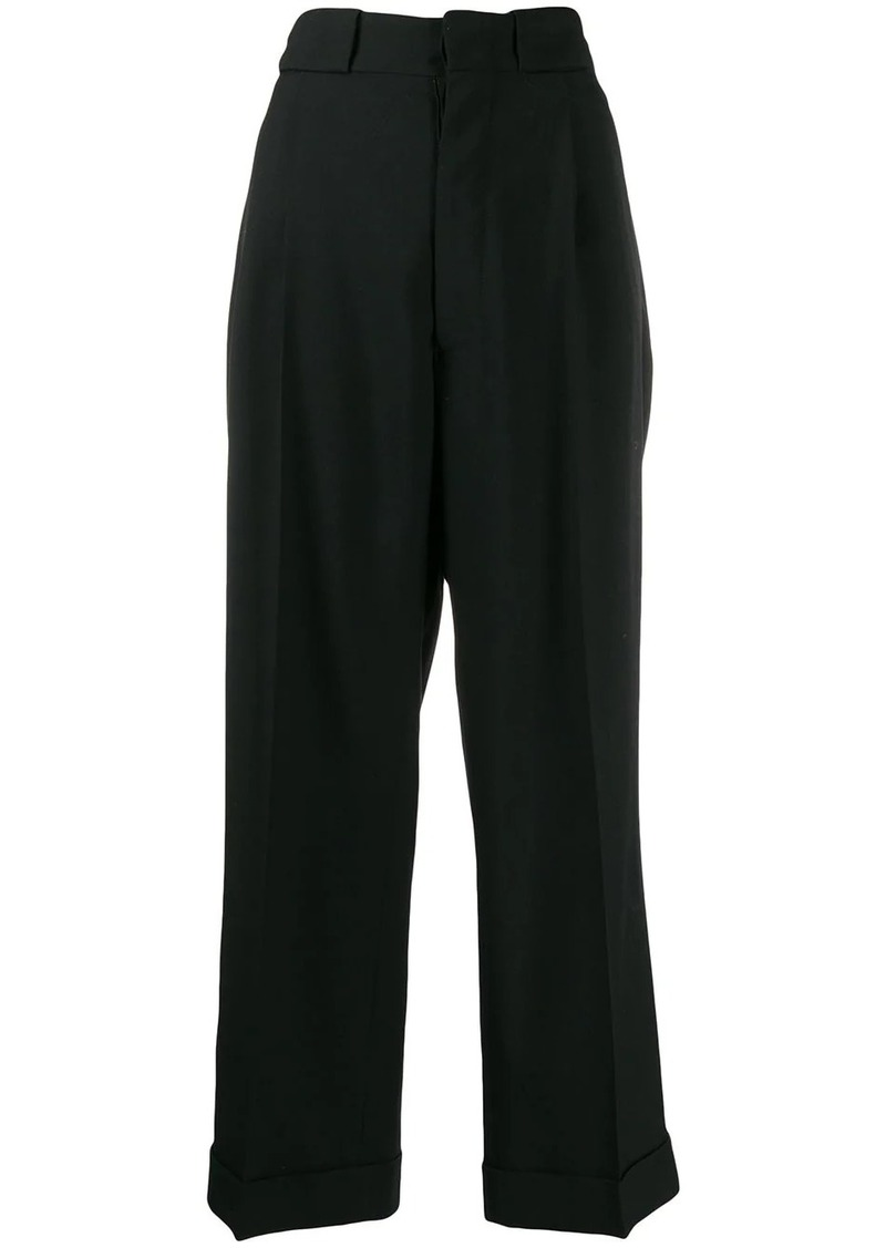 Maison Margiela straight-leg trousers