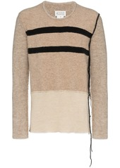 Maison Margiela stripe detail jumper