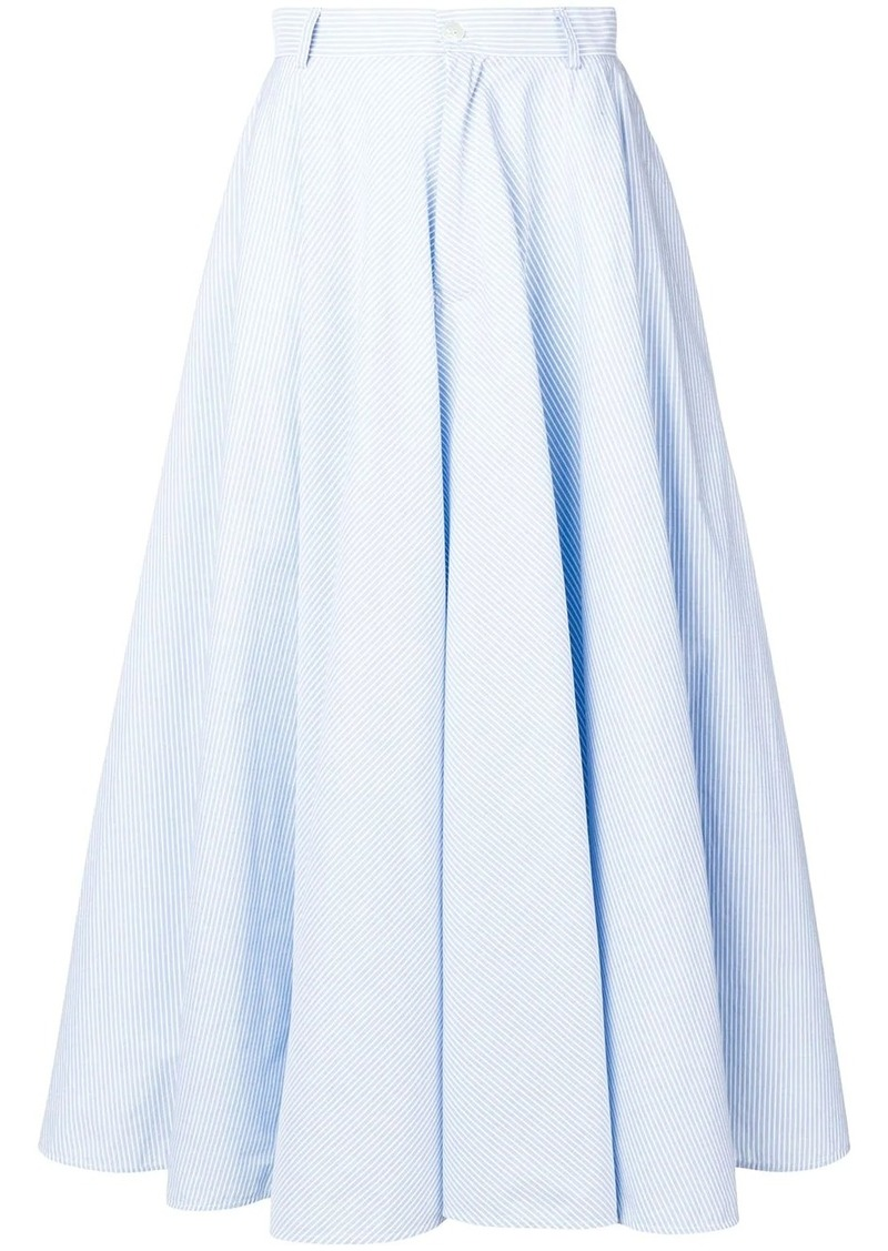 Maison Margiela striped full skirt