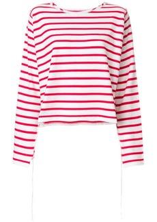 Maison Margiela striped long sleeve T-shirt