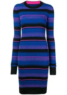 Maison Margiela striped midi dress