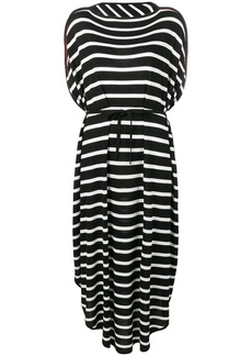 Maison Margiela striped oversized dress