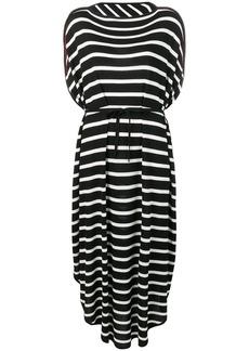 Maison Margiela striped oversized dress