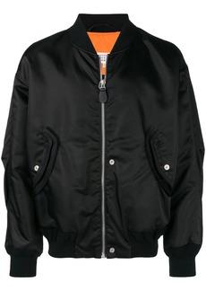 Maison Margiela structured bomber jacket