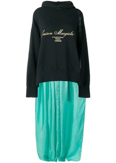 Maison Margiela sweatshirt-panelled dress