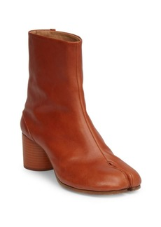 Maison Margiela Tabby Mid-Heel Leather Boots