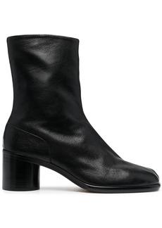 Maison Margiela Tabi 30mm leather ankle boots