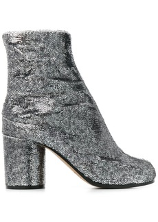 Maison Margiela Tabi 70mm sequined boots