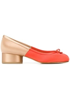 Maison Margiela Tabi colour-block pumps