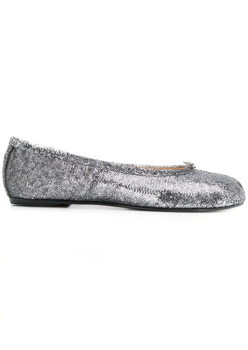 Maison Margiela Tabi sequin ballerina shoes