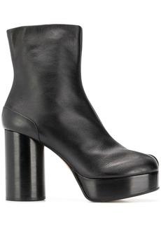 Maison Margiela tabi toe platform boots