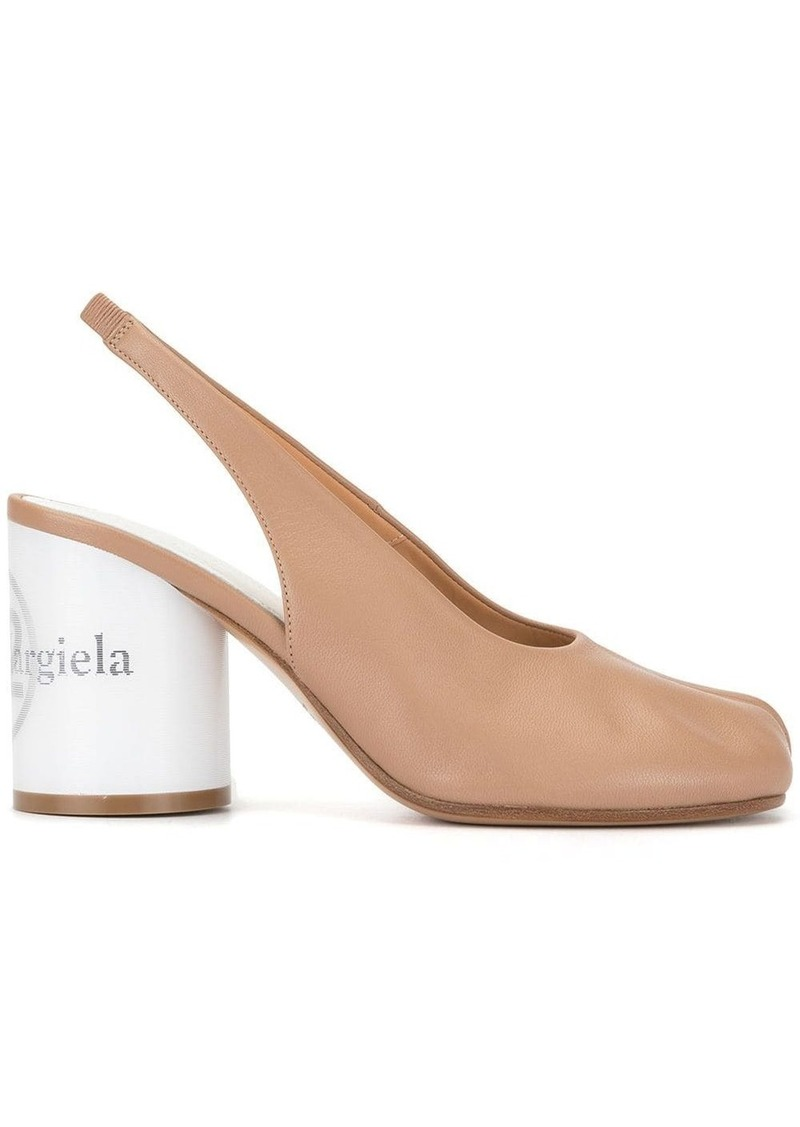 Maison Margiela Tabi toe sling-back pumps