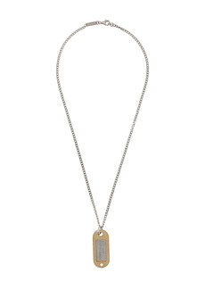 Maison Margiela tag necklace