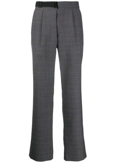 Maison Margiela tailored check trousers