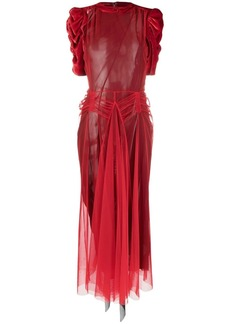 Maison Margiela Tango tulle overlay dress