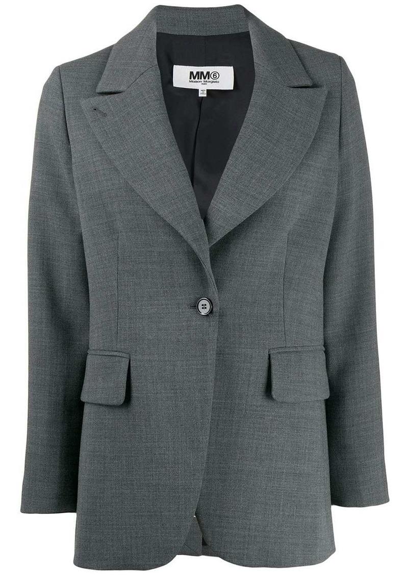 Maison Margiela techno-wool blazer
