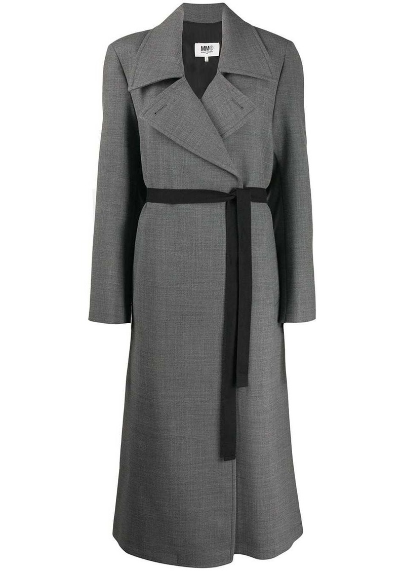 Maison Margiela techno-wool coat