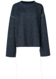 Maison Margiela textured knit sweater