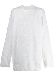 Maison Margiela textured oversized sweater