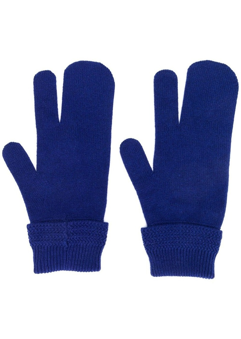 Maison Margiela three-finger gloves