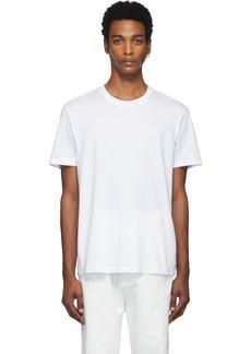 Maison Margiela Three-Pack White & Off-White Jersey T-Shirt