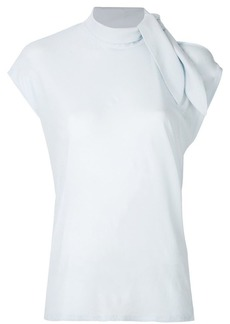 Maison Margiela tie neck blouse