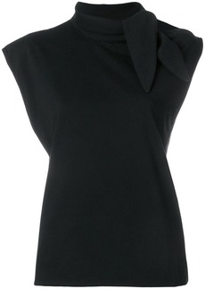 Maison Margiela Tie neck detail top