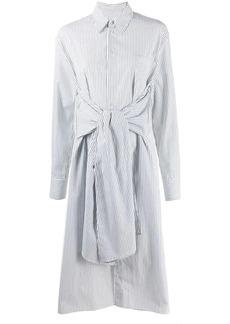Maison Margiela tie waist shirt dress