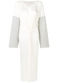 Maison Margiela tied front long dress