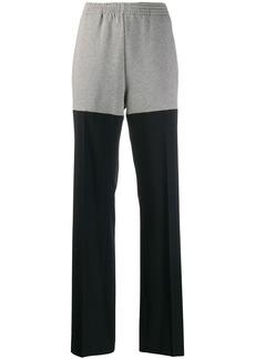 Maison Margiela track pinstripe tailored trousers